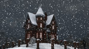 Winter Schneefall